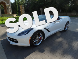 2014 Chevrolet Corvette Stingray Z51 3LT, Navigation, ONLY 1K miles!   Grapevine, TX   Corvette Center Dallas in Dallas TX