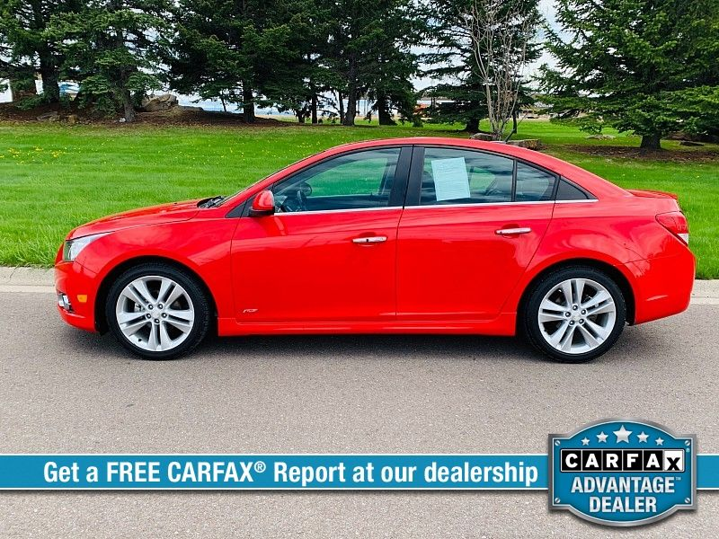 2014 Chevrolet Cruze 4d Sedan LTZ  city MT  Bleskin Motor Company   in Great Falls, MT