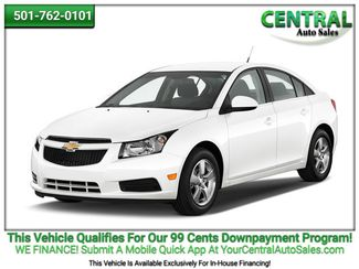 2014 Chevrolet Cruze 1LT   Hot Springs, AR   Central Auto Sales in Hot Springs AR