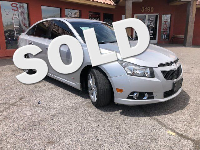 2014 Chevrolet Cruze LTZ CAR PROS AUTO CENTER (702) 405-9905 Las Vegas, Nevada