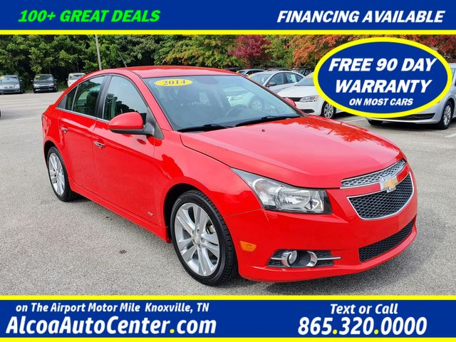 2014 Chevrolet Cruze LTZ RS 1.4L Turbo w/Leather/Heated Seats/18""