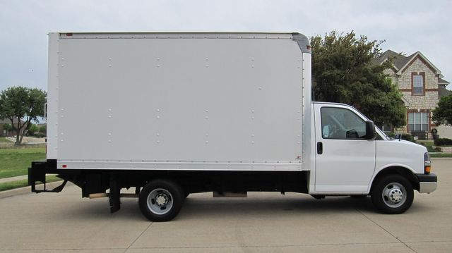 2014 Chevrolet Express 14' Cutaway Delivery Moving Straight Box Truck W/ Maxon Liftgate Irving, Texas 15