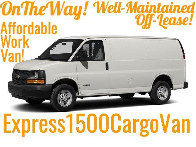 2014 Chevrolet Express Cargo Van 1500 W/T