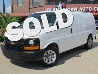 2014 Chevrolet Express Cargo Van G1500   Houston, TX   American Auto Centers in Houston TX