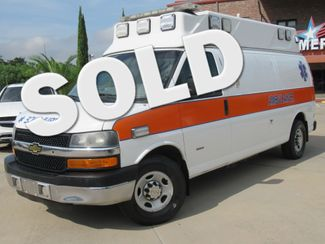 2014 Chevrolet Express Cargo Van Ambulance 6.6L Duramax | Houston, TX | American Auto Centers in Houston TX
