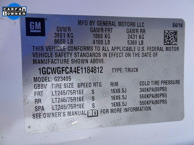 2014 Chevrolet Express Cargo Van Work Van Madison, NC 39