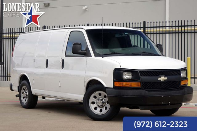 2014 Chevrolet Express Cargo Van 1500 One Owner Shelves And Bins