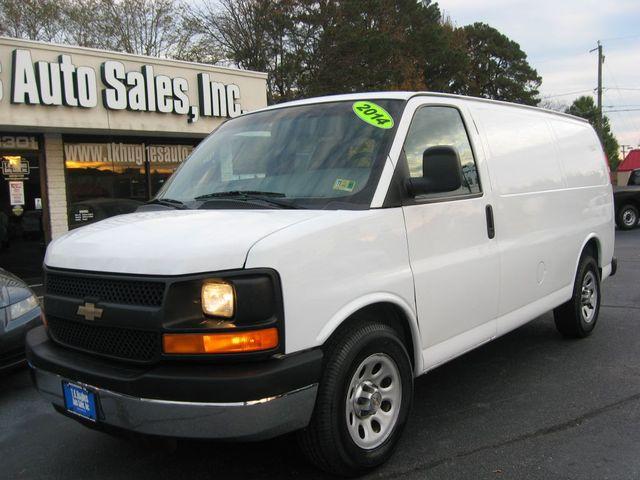 2014 Chevrolet Express Cargo Van Richmond, Virginia 1