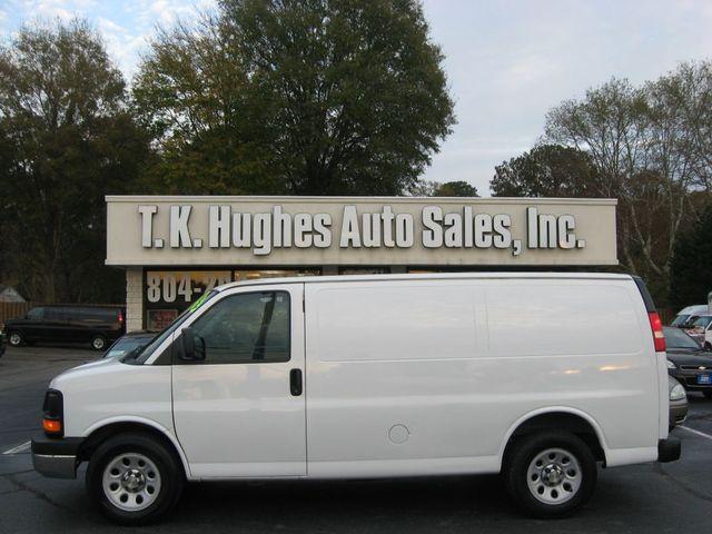 2014 Chevrolet Express Cargo Van Richmond, Virginia 0