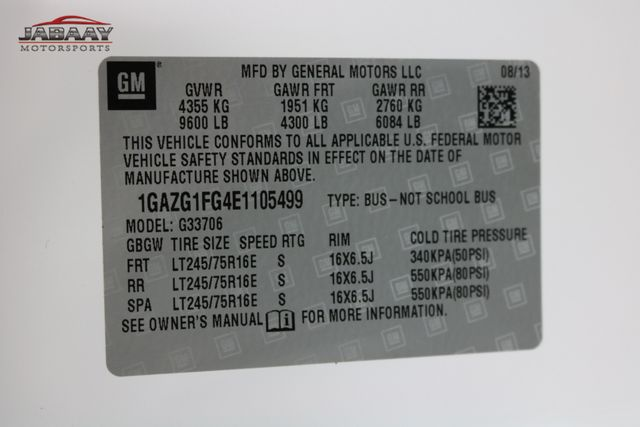 2014 Chevrolet Express Passenger LT Merrillville, Indiana 29