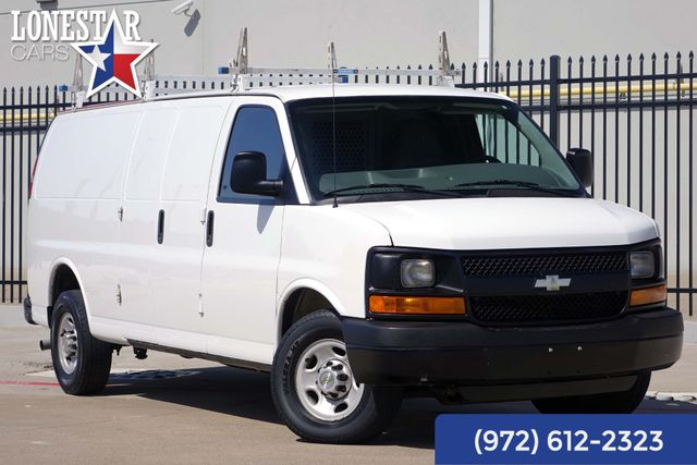 2014 Chevrolet G2500 Cargo Van Express Extended Clean Carfax One Owner Shelves