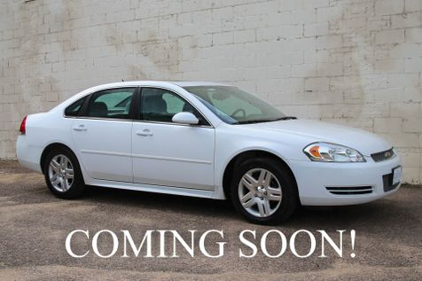 2014 Chevrolet Impala Limited LT with Power Moonroof, Remote Start, Dual A/C Controls and Satellite Radio in Eau Claire
