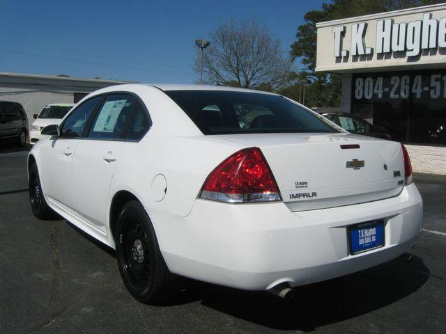 2014 Chevrolet Impala Limited Police Richmond, Virginia 7