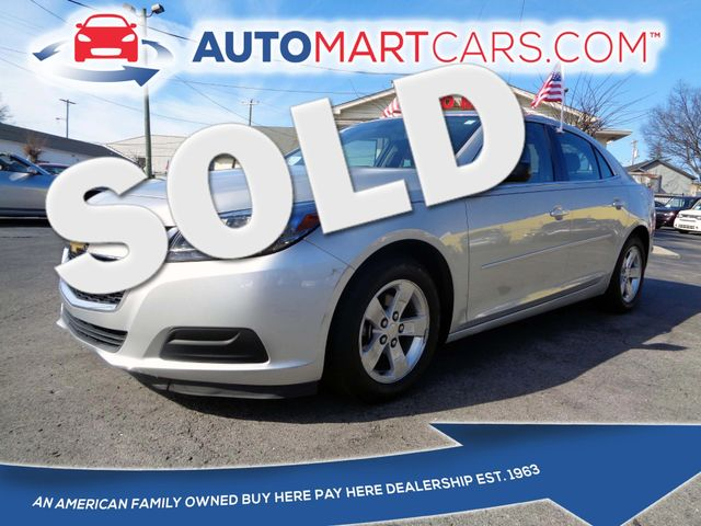 2014 Chevrolet Malibu LS | Nashville, Tennessee | Auto Mart Used Cars Inc. in Nashville Tennessee
