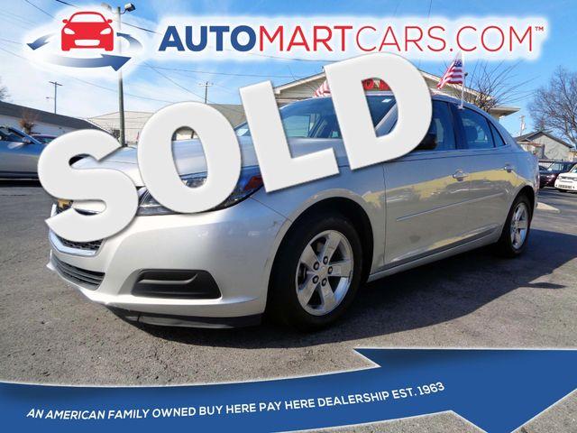 2014 Chevrolet Malibu LS   Nashville, Tennessee   Auto Mart Used Cars Inc. in Nashville Tennessee