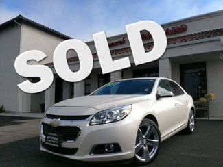 2014 Chevrolet Malibu LTZ | San Luis Obispo, CA | Auto Park Sales & Service in San Luis Obispo CA