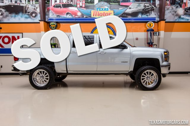 2014 Chevrolet Silverado 1500 LT 4X4 in Addison Texas, 75001