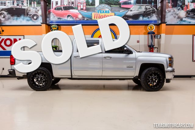 2014 Chevrolet Silverado 1500 LTZ 4X4 Texas Edition