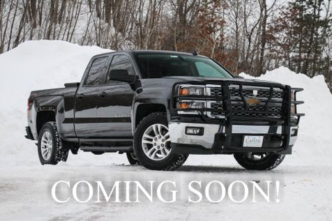 2014 Chevrolet Silverado 1500 LT Double Cab 4x4 w/Backup Cam, MyTouch Infotainment, Brush Guard & Kobalt Toolbox in Eau Claire