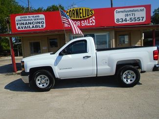 2014 Chevrolet Silverado 1500 Work Truck   Fort Worth, TX   Cornelius Motor Sales in Fort Worth TX