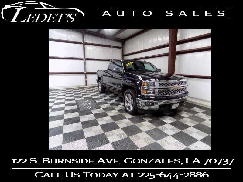 2014 Chevrolet Silverado 1500 LT - Ledet's Auto Sales Gonzales_state_zip in Gonzales Louisiana