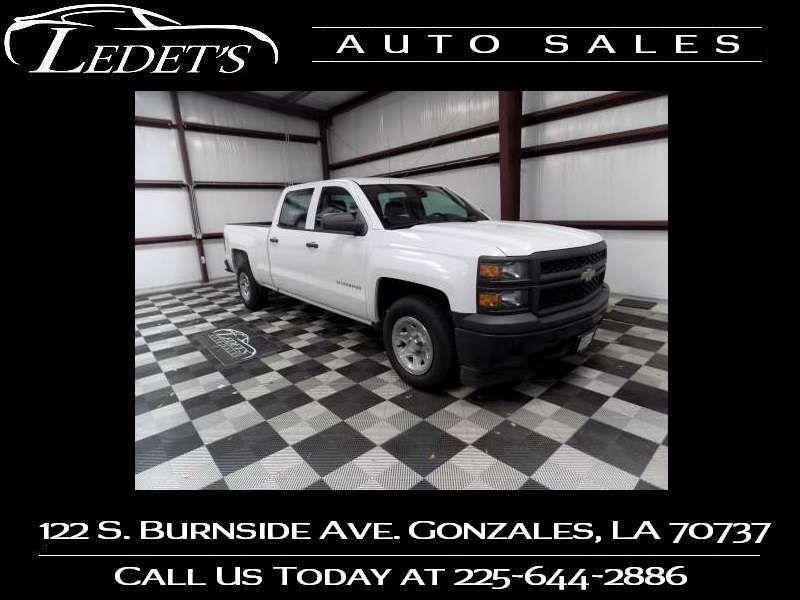 2014 Chevrolet Silverado 1500 Work Truck - Ledet's Auto Sales Gonzales_state_zip in Gonzales Louisiana