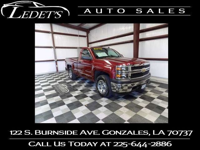 2014 Chevrolet Silverado 1500 Work Truck - Ledet's Auto Sales Gonzales_state_zip in Gonzales
