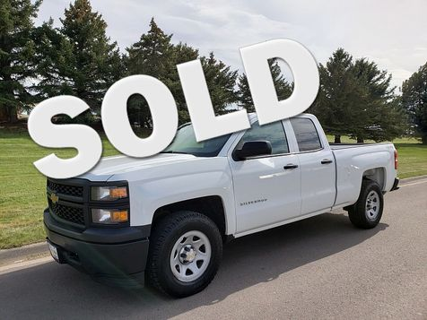 2014 Chevrolet Silverado 1500 4WD Double Cab Work Truck w/1WT in Great Falls, MT