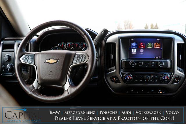 2014 Chevrolet Silverado 1500 LTZ Crew Cab 4x4 with 22-Inch Rims, Nav, Backup Cam, Heated Seats & BOSE Audio in Eau Claire, Wisconsin 54703