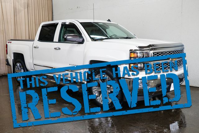 2014 Chevrolet Silverado 1500 LTZ Crew Cab 4x4 with 22-Inch Rims, Backup Cam, Heated Seats & BOSE Audio System in Eau Claire, Wisconsin 54703