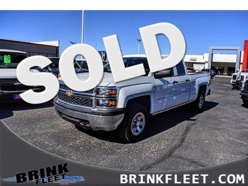 2014 Chevrolet Silverado 1500 Work Truck   Lubbock, TX   Brink Fleet in Lubbock TX