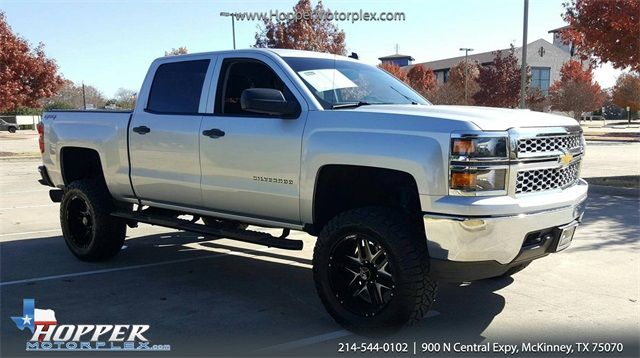 2014 Chevrolet Silverado 1500 LT LIFTED/CUSTOM WHEELS AND TIRES