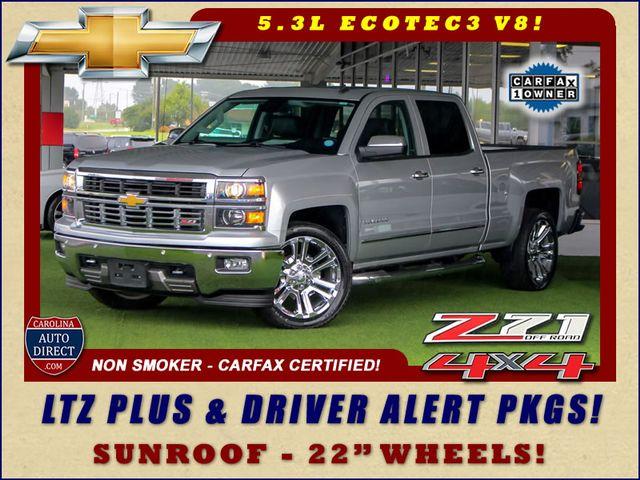 2014 Chevrolet Silverado 1500 LTZ PLUS Crew Cab 4x4 Z71 - DRIVER ALERT PKG! Mooresville , NC 0