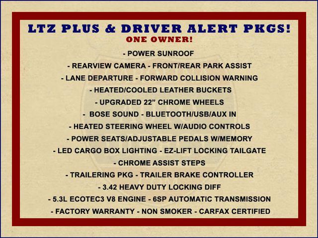 2014 Chevrolet Silverado 1500 LTZ PLUS Crew Cab 4x4 Z71 - DRIVER ALERT PKG! Mooresville , NC 1