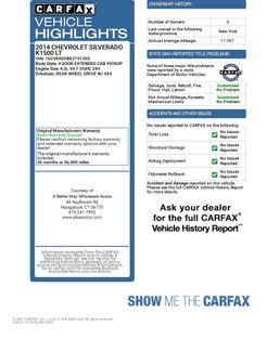 2014 Chevrolet Silverado 1500 LT 4WD Naugatuck, Connecticut 1