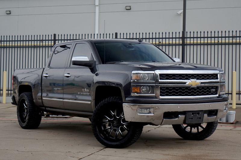 2014 Chevrolet Silverado 1500 LTZ*Sunroof*Nav*4x4*Lift** | Plano, TX | Carrick's Autos in Plano TX