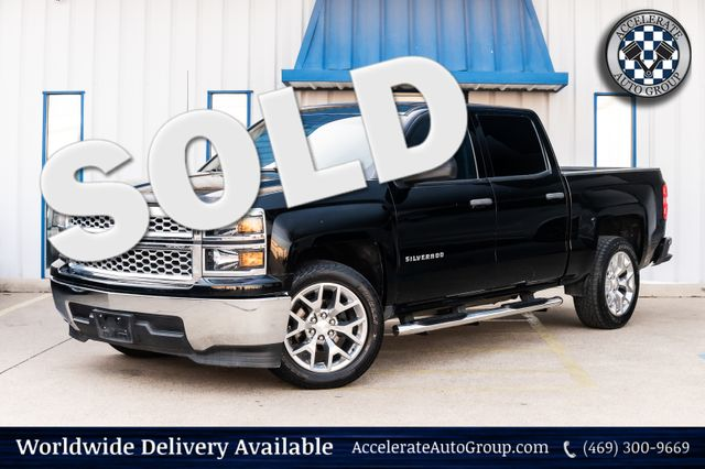 2014 Chevrolet Silverado 1500 LT BLACK ON BLACK BLUETOOTH POWER ACCESSORIES NICE in Rowlett
