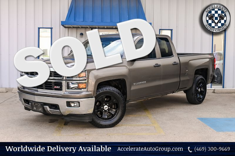 2014 Chevrolet Silverado 1500 LT/Z71/NEW TRANSMISSION CLEAN/4X4/LEATHER/V8 NICE in Rowlett Texas