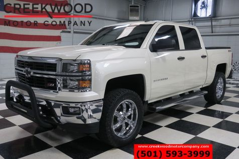2014 Chevrolet Silverado 1500 LT 4x4 Z71 Lifted White Chrome 20s Extra's Clean in Searcy, AR