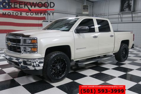 2014 Chevrolet Silverado 1500 LT 4x4 Pearl White New Tires Leveled Cloth Heated in Searcy, AR