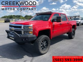 2014 Chevrolet Silverado 1500 LT 4x4 Red Lifted Black 20s New Tires AMP Steps in Searcy, AR 72143
