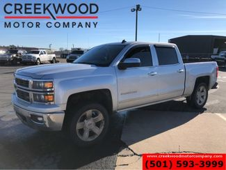 2014 Chevrolet Silverado 1500 LTZ 4x4 Z71 Silver Leather Nav Sunroof Chrome 20s in Searcy, AR 72143
