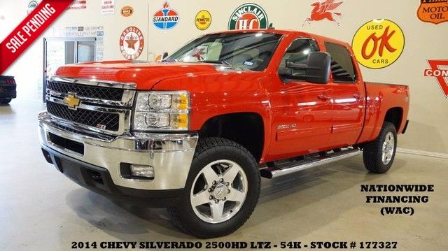 2014 Chevrolet Silverado 2500HD LTZ Z-71 4X4 DIESEL,BACK-UP,HTD/COOL LTH,54K