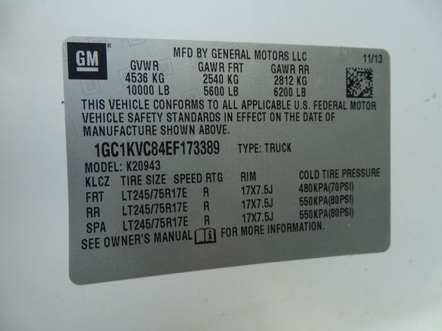 2014 Chevrolet Silverado 2500HD Work Truck Corpus Christi, Texas 39