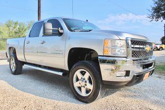 2014 Chevrolet Silverado 2500HD LT Crew Cab 4X4 6.6L Duramax Diesel Allison Auto in Sealy, Texas 77474