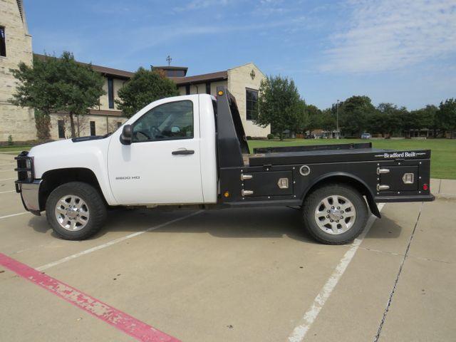 2014 Chevrolet Silverado 2500HD Work Truck Bradford Built Flatbed in McKinney, Texas 75070