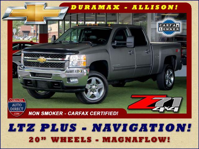 2014 Chevrolet Silverado 2500HD LTZ PLUS Crew Cab 4x4 Z71 - NAVIGATION! Mooresville , NC 0