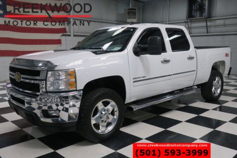 2014 Chevrolet Silverado 2500HD LT 4x4 Z71 Diesel Allison White Leather Chrome 20s in Searcy, AR