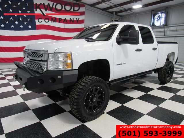 2014 Chevrolet Silverado 2500HD Lifted 4x4 Diesel Allison White New Tires 20s NICE in Searcy, AR 72143