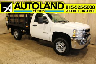 2014 Chevrolet Silverado 2500HD Stake bed Work Truck in Roscoe IL, 61073